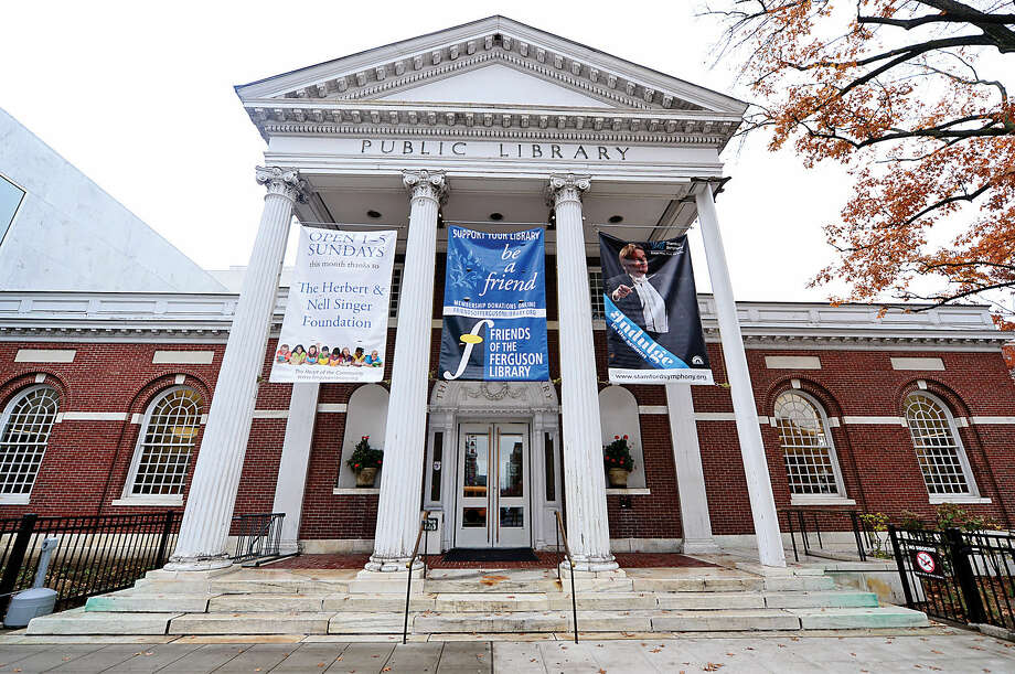 The Ferguson Library will rededicate its main library at Bedford and Broad streets in memory of late President Ernest A. DiMattia, Jr. in a ceremony at 2 p.m. Sunday, Dec. 7. The building will henceforth be known as the Ernest A. DiMattia, Jr. Building of The Ferguson Library. DiMattia was president of The Ferguson Library from 1976 until his death in June.