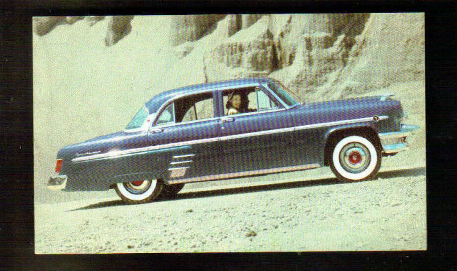 NORWALK, CT, WEST AVE MOTORS ADV PC, MERCURY DEALER, 1954 SEDAN MODEL, used