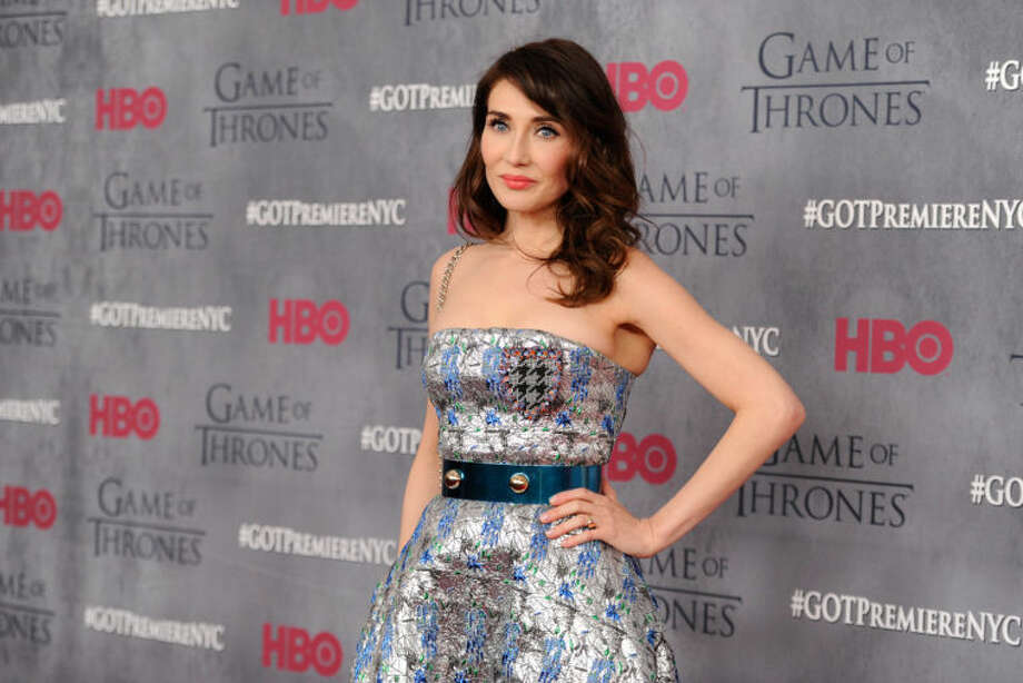 "Actress Carice van Houten attends HBO's ""Game of Thrones"" fourth season premiere at Avery Fisher Hall on Tuesday, March 18, 2014 in New York. (Photo by Evan Agostini/Invision/AP)"