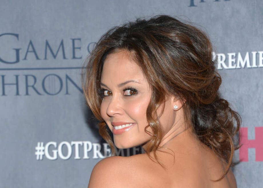 "Vanessa Lachey arrives at New York Premiere of ""Game of Thrones"" Fourth Season on Tuesday, March 18, 2014, in New York. (Photo by Evan Agostini/Invision/AP)"