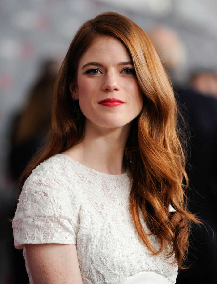 "Actress Rose Leslie attends HBO's ""Game of Thrones"" fourth season premiere at Avery Fisher Hall on Tuesday, March 18, 2014 in New York. (Photo by Evan Agostini/Invision/AP)"