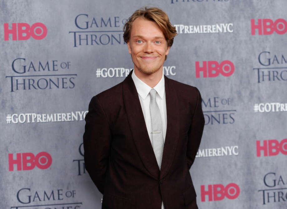 "Actor Alfie Allen attends HBO's ""Game of Thrones"" fourth season premiere at Avery Fisher Hall on Tuesday, March 18, 2014 in New York. (Photo by Evan Agostini/Invision/AP)"
