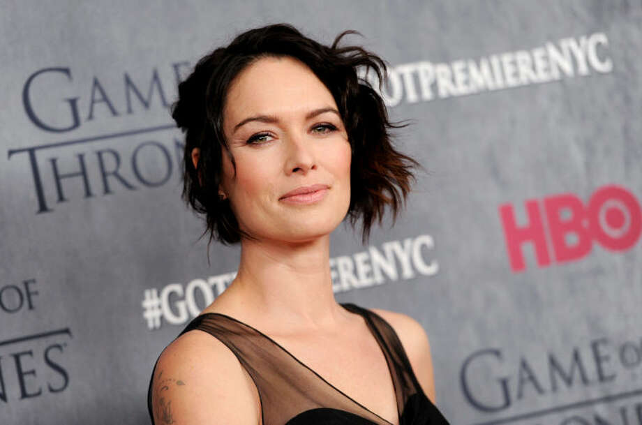 "Actress Lena Headey attends HBO's ""Game of Thrones"" fourth season premiere at Avery Fisher Hall on Tuesday, March 18, 2014 in New York. (Photo by Evan Agostini/Invision/AP)"