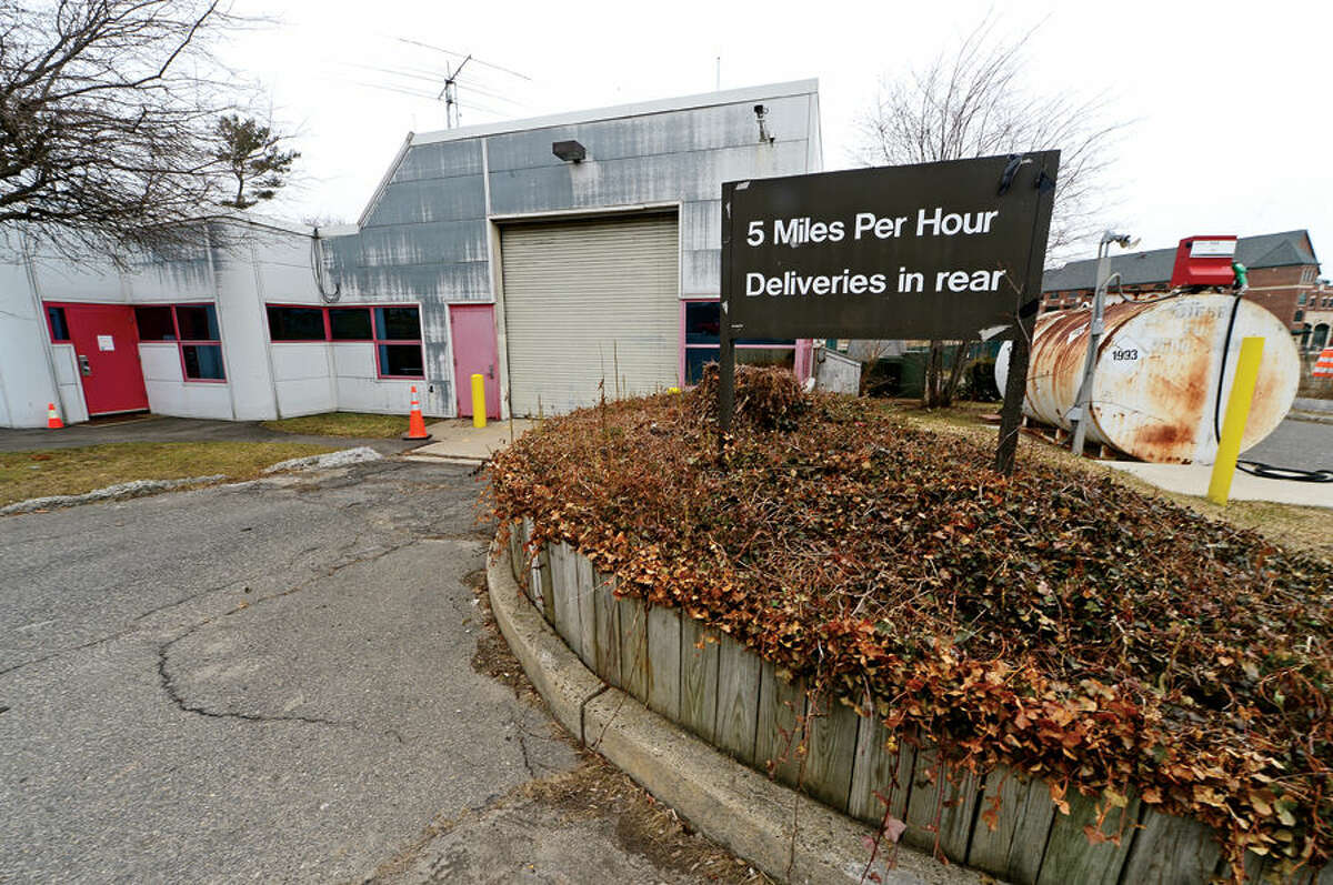 Hour photo / Erik Trautmann The Norwalk Fire Department will paint the Fire Support Services Facility at 100 Fairfield Ave. this summer and renovate Broad River Station No. 1 at 90 New Canaan Ave. later this year. Reallocation of $934,000 leftover from new headquarters construction will pay for the work.