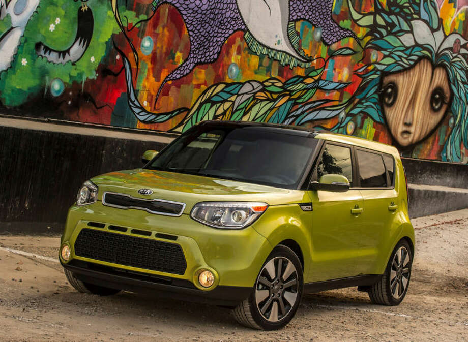 This undated photo made available by Kia shows the 2014 Kia Soul. (AP Photo/Kia)