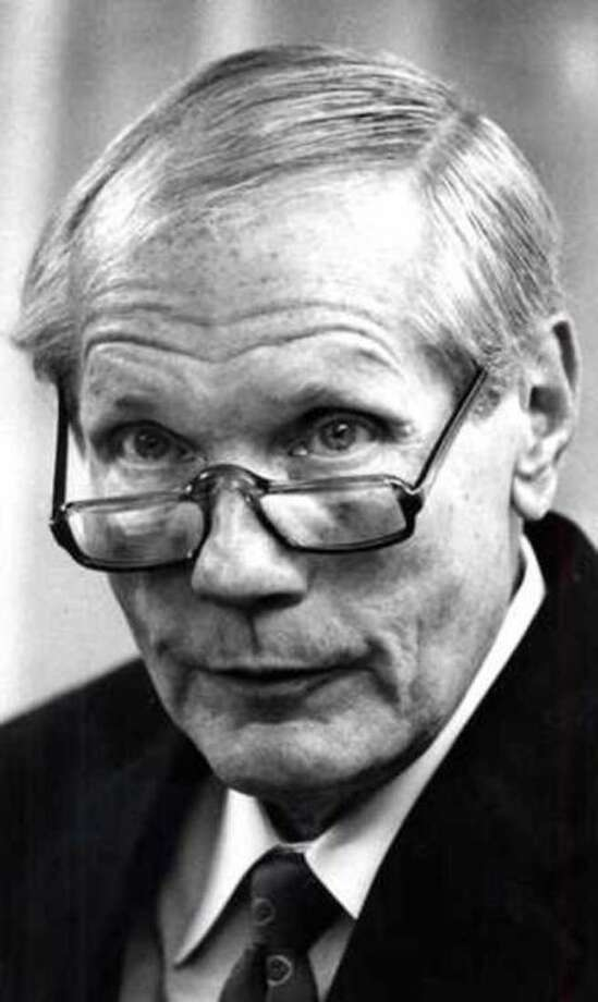 This Nov. 17, 1989 file photo shows Fred Phelps Sr. Phelps, the fiery founder of the Westboro Baptist Church, a small Kansas church, who drew international condemnation for outrageous and hate-filled protests that blamed almost everything, including the deaths of AIDS victims and U.S. soldiers, on America's tolerance for gay people, has died the family said Thursday, March 20, 2014. He was 84. (AP Photo/The Topeka Capital Journal)