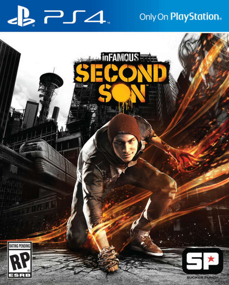 """This video game cover image released by Sony shows """"inFamous: Second Son."""" (AP Photo/Sony)"""