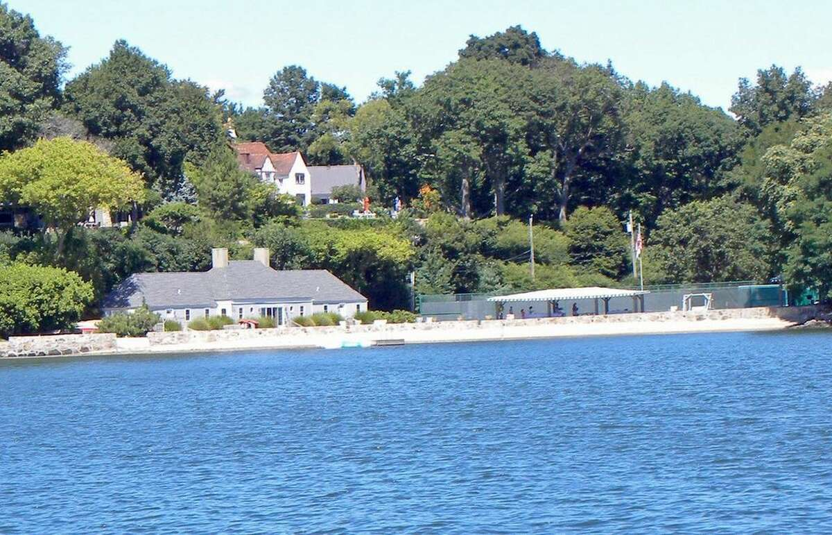 10 Woodland Rd, Norwalk, CT 06854 5 beds 6 baths 6,088 sqft Features: Master suite with a spa bath, tennis courts, beach, dock and club house. (Credit: Zillow)