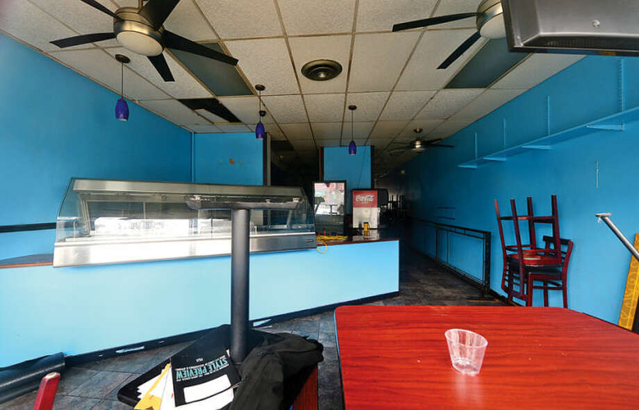 Hour photo / Erik Trautmann The former location of Jeff's Cuisine at 54 North Main St. in SoNo has closed. Some businesses are finding hard to keep their doors open while others look to reinvent themselves.