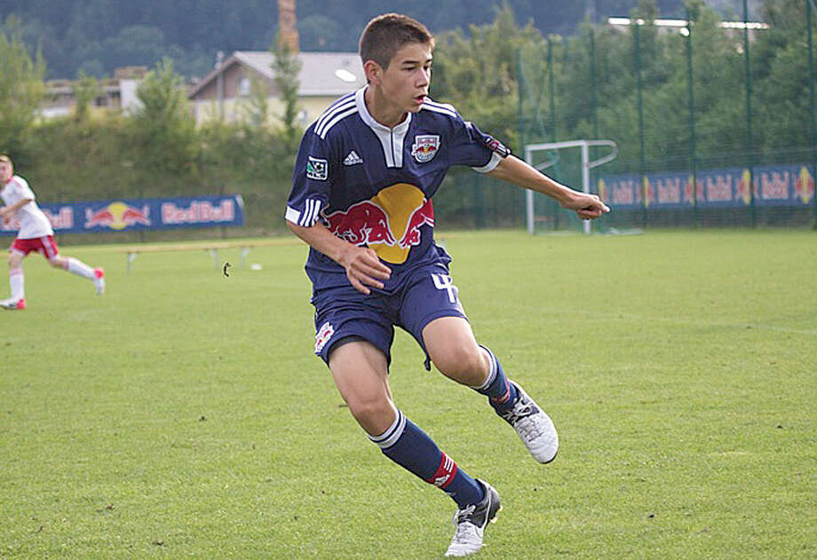 Kyle Zajec has signed on to play with the New York Red Bulls. (Photo courtesy of Kyle Zajec/Fieldoo.com)