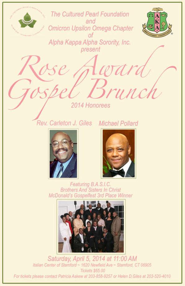 ROSE AWARD GOSPEL BRUNCH