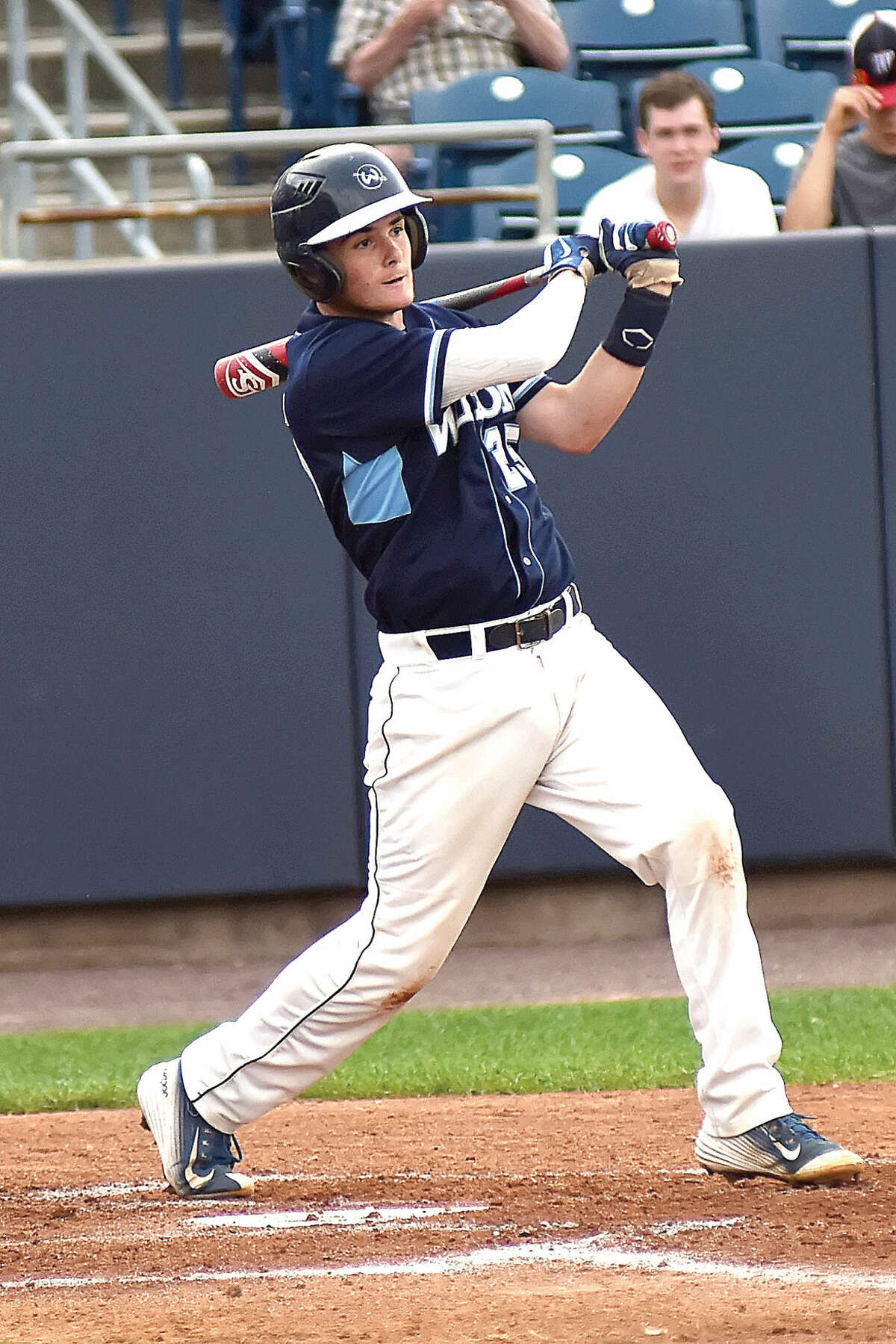 Alex Jacobson is one of eight players from Wilton who will play college baseball in the fall.