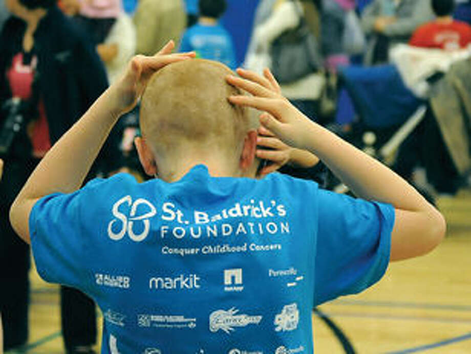 The 11th annual TeamBrent St. Baldrick's Celebration was held at the Wesprt Weston YMCA in Westport on Sunday. Hour photo/Matthew Vinci