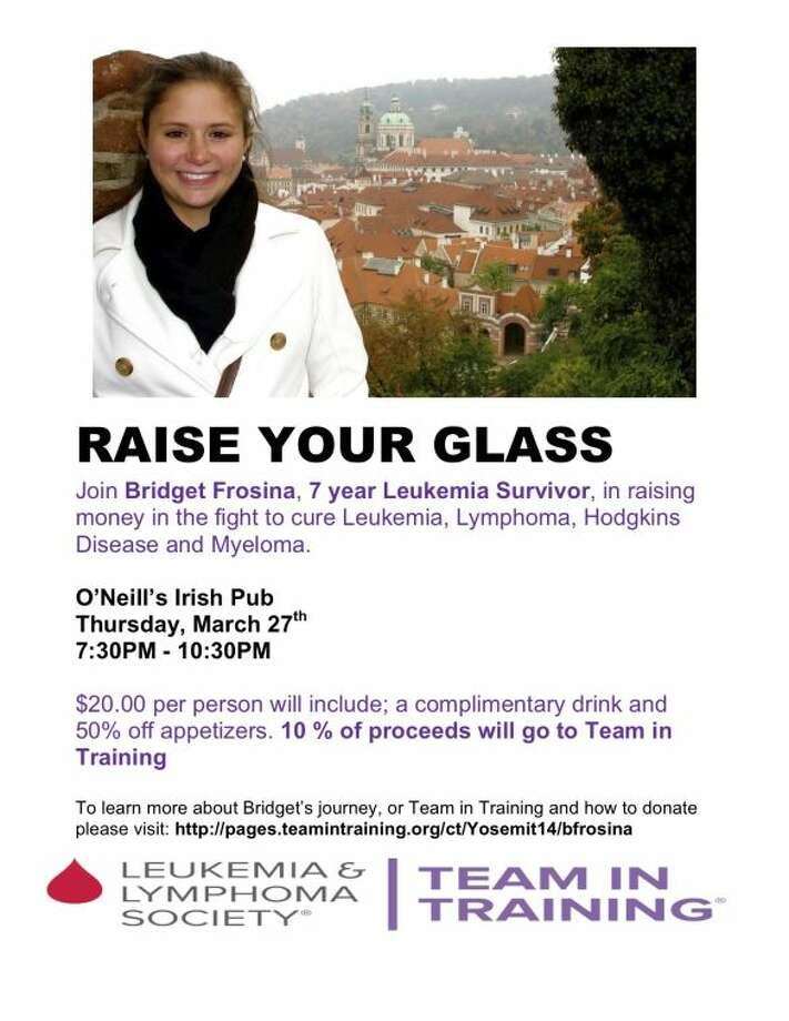 Leukemia and Lymphoma Society- Team In Training Fundraiser at O'Neill's
