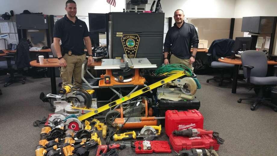 Tools stolen in Norwalk