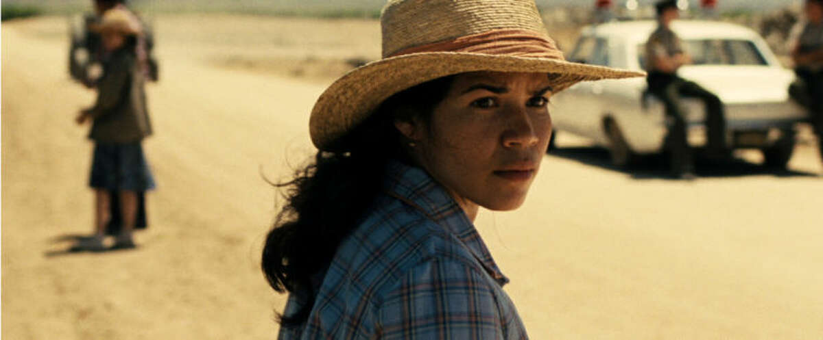 This photo released by Pantelion Films shows America Ferrera as Helen Chavez in a scene from