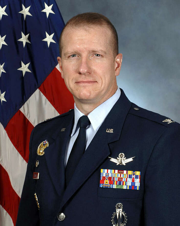 This undated handout photo provided by the US Air Force shows Col. Robert Stanley II. The Air Force is firing nine mid-level commanders and disciplining dozens of junior officers at a nuclear missile base in response to an exam-cheating scandal that spanned a far longer period than originally reported. No Air Force general is being punished, but Stanley, the top commander at the Montana base, which is where the exam cheating was discovered in January, has resigned. (AP Photo/US Air Force)