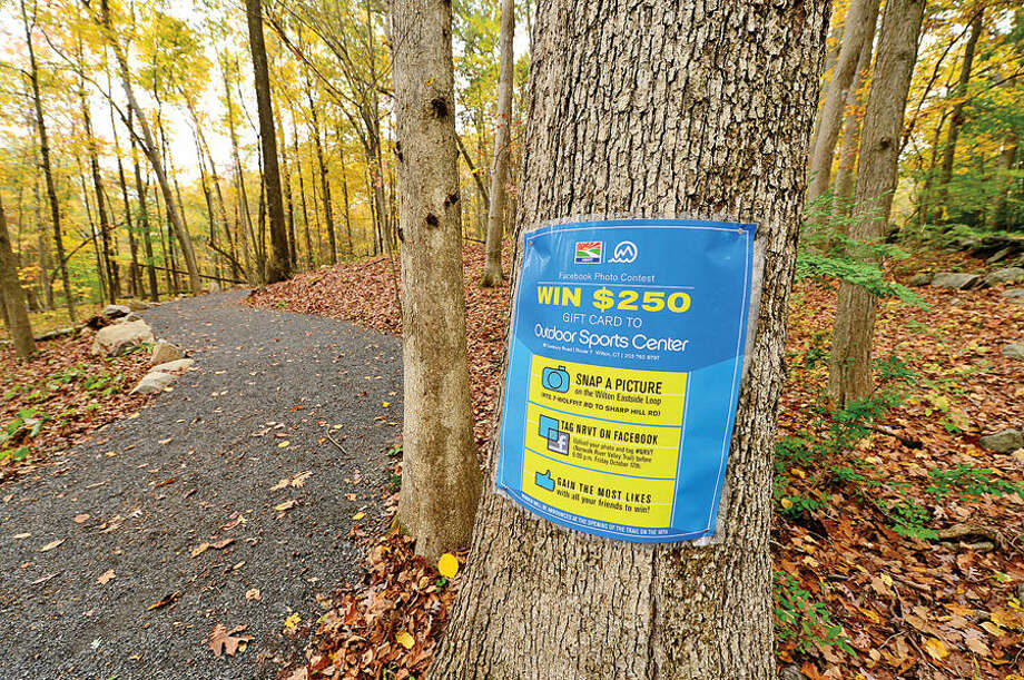 "Supporters of the Norwalk River Valley Trail (NRVT) made the official announcement of the opening of a new section of the east-side ""Wilton Loop"" Saturday."