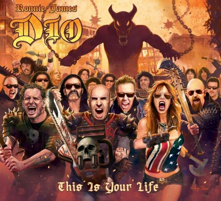 "This CD cover image released by Rhino Entertainment shows ""This Is Your Life,"" by Ronnie James Dio . (AP Photo/Rhino Entertainment)"