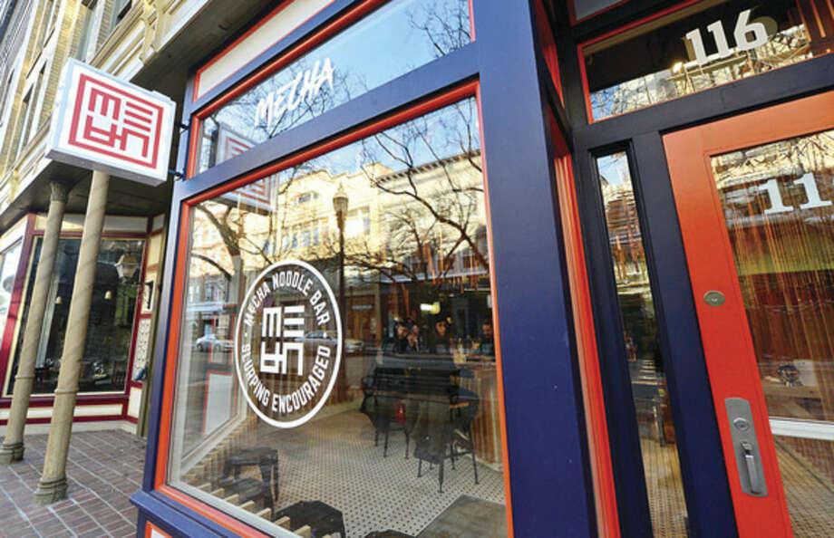 Hour photo / Erik Trautmann The new Mecha Noodle Bar restaurant in SoNo.