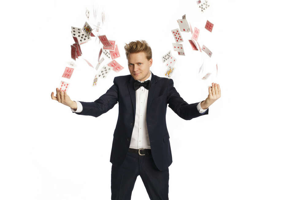 """On Sunday, April 12, """"The Amazing"""" Max Darwin will appear at The Palace Theatre to perform a magical show that promises to amaze young and old alike."""