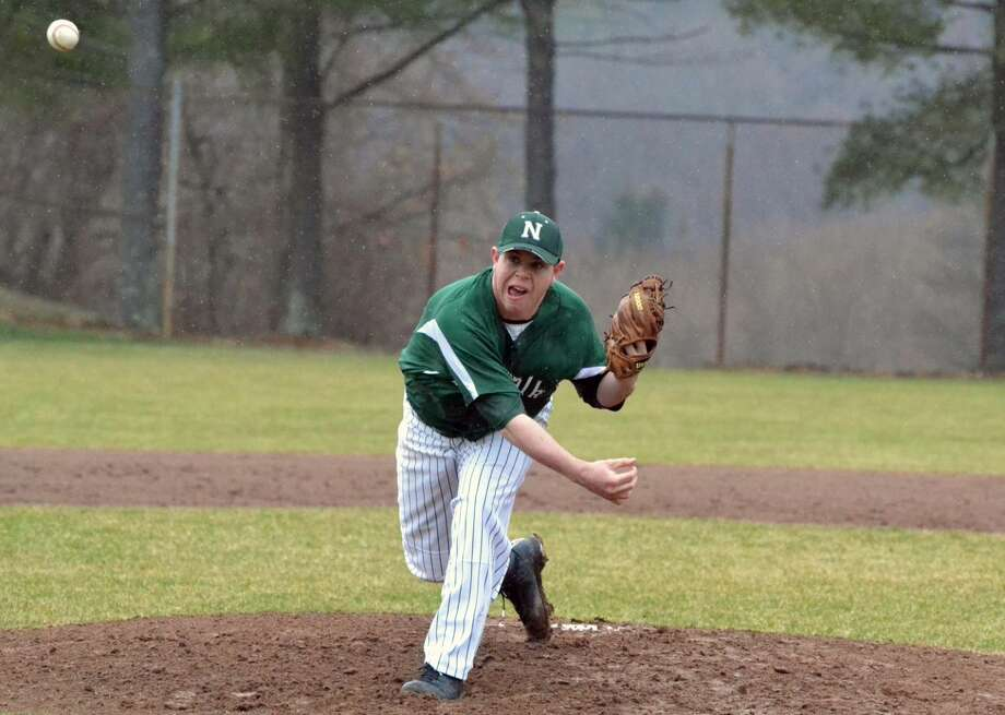 Norwalk's Eddie O'Hara got the win for the Norwalk Bears after striking out five batters in four plus innings of work on Wednesday. (Hour photo/Pete Paguaga)