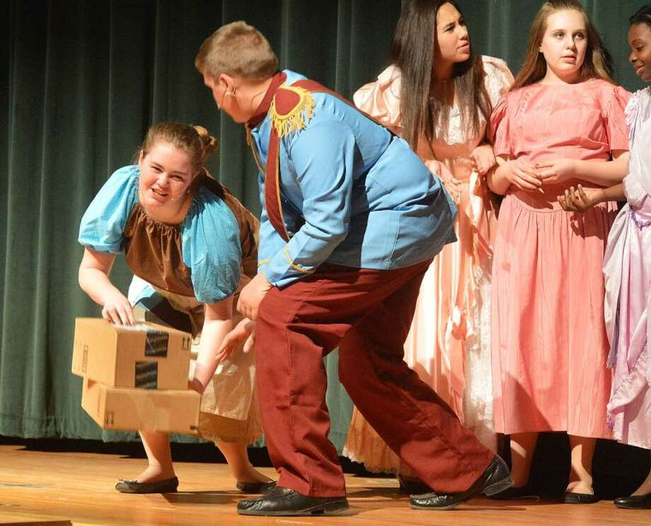 Hour Photo/Alex von Kleydorff The West Rocks School production of Cinderella