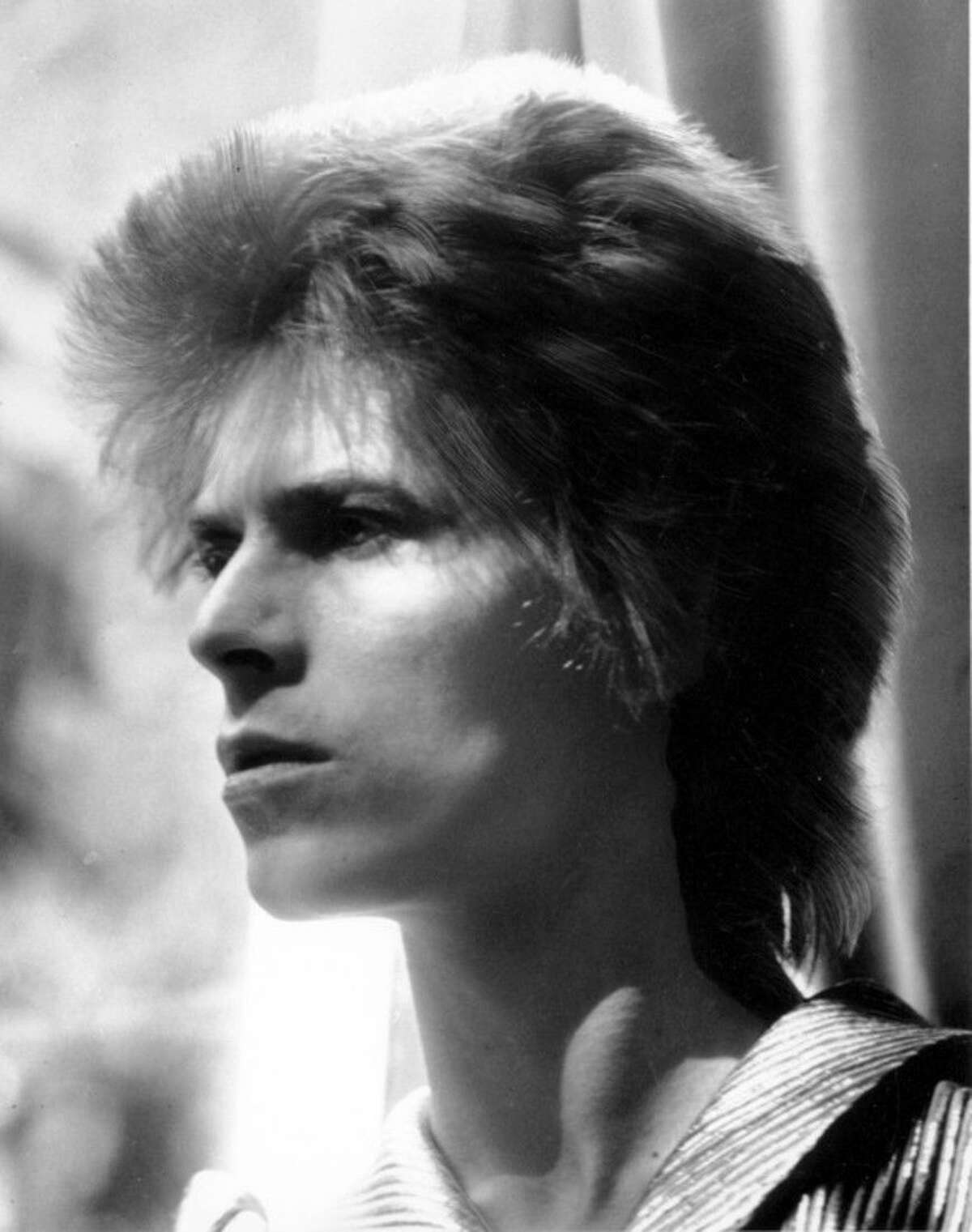 FILE - This is an Oct. 1972 file photo of British singer David Bowie. Bowie, the other-worldly musician who broke pop and rock boundaries with his creative musicianship, nonconformity, striking visuals and a genre-bending persona he christened Ziggy Stardust, died of cancer Sunday Jan. 10, 2016. He was 69 and had just released a new album. (AP Photo/ File)