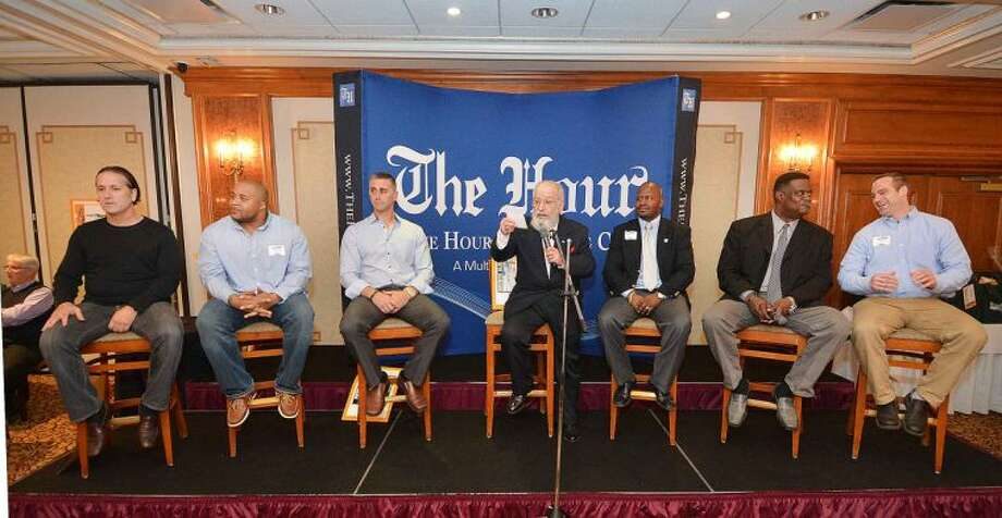 Hour Photo/Alex von Kleydorff The Hour Presents, Sports Talk, A Gentleman's Night Out with George Albano at The Norwalk inn and Conference Center