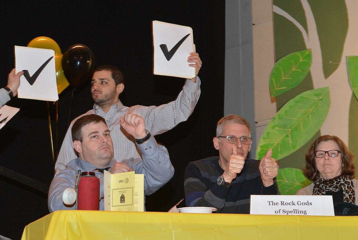 Hour Photo/Alex von Kleydorff 3rd Annual Community Spelling Bee, a fundraiser to support the programs of The Norwalk Education Foundation