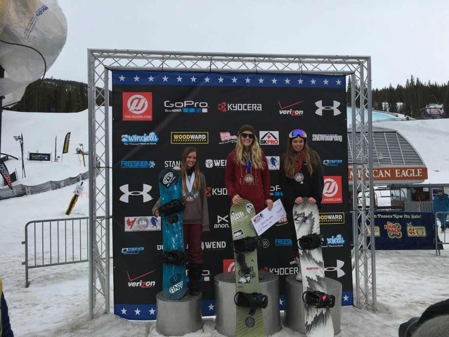 Noelle stands atop the podium today with a gold medal and a $1000.00 check.