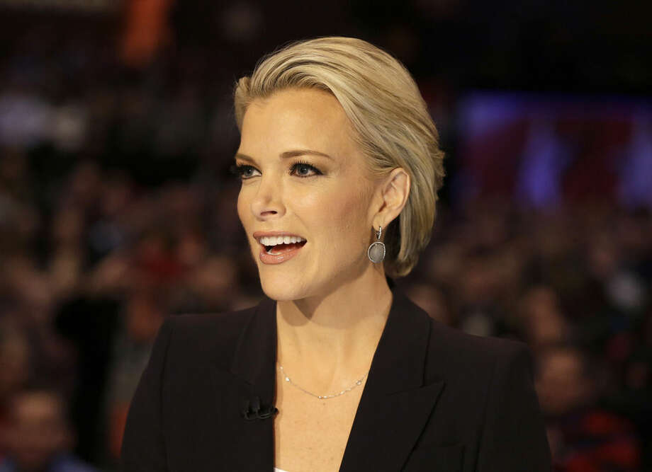FILE - In this Jan. 28, 2016 file photo, moderator Megyn Kelly talks during a Republican presidential primary debate in Des Moines, Iowa. Anticipating another appearance on a debate stage with Donald Trump, Kelly says their public feud hasn't affected her preparation and she doesn't expect a renewal of hostilities with the Republican presidential front runner. She is moderating a debate with colleagues Bret Baier and Chris Wallace, Thursday, March 3, at Detroit's Fox Theater from 9 to 11 p.m. ET. (AP Photo/Chris Carlson, File)