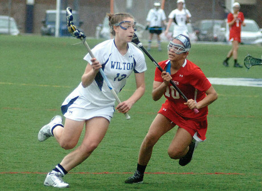 Wilton's Makenna Pearsall is the Hour's All-Area Girls Lacrosse MVP for the 2015 season.(Hour photo/Matthew Vinci)