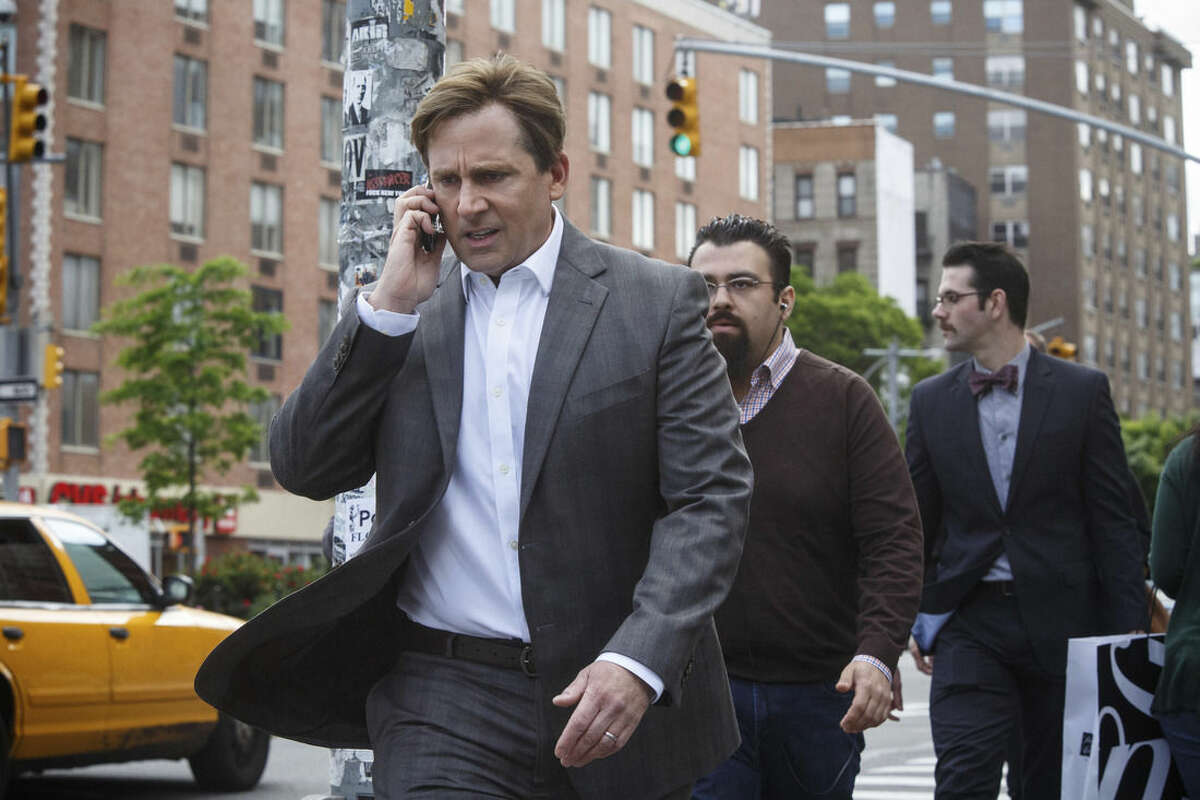 """In this image released by Paramount Pictures, Steve Carell appears in a scene from """"The Big Short."""" The film is nominated for an Oscar for best picture. The 88th Academy Awards will be held on Sunday, Feb. 28. (Jaap Buitendijk/Paramount Pictures via AP)"""