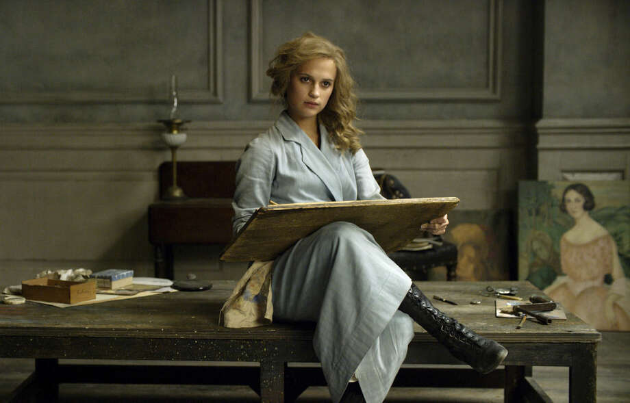 """This image released by Focus Features shows Alicia Vikander in a scene from """"The Danish Girl."""" Vikander was nominated for an Oscar for best supporting actress for her role in the film. The 88th Academy Awards will be held on Sunday, Feb. 28. (Focus Features via AP)"""