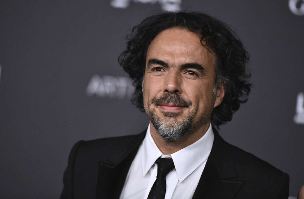 """FILE - In this Nov. 7, 2015 file photo, Alejandro Gonzalez Inarritu attends LACMA 2015 Art+Film Gala at LACMA in Los Angeles. Inarritu was nominated for an Oscar for best director for his work on the film """"The Revenant."""" The 88th Academy Awards will be held on Sunday, Feb. 28. (Photo by Jordan Strauss/Invision/AP, File)"""