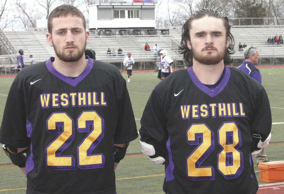 Photo by Joe RyanWesthill's John Costello, left, and Brendan Ronan will try and help lead the Vikings back to their winning ways.