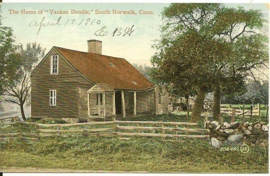 "THE HOME OF ""YANKEE DOODLE"" SOUTH NORWALK CONN 1910"