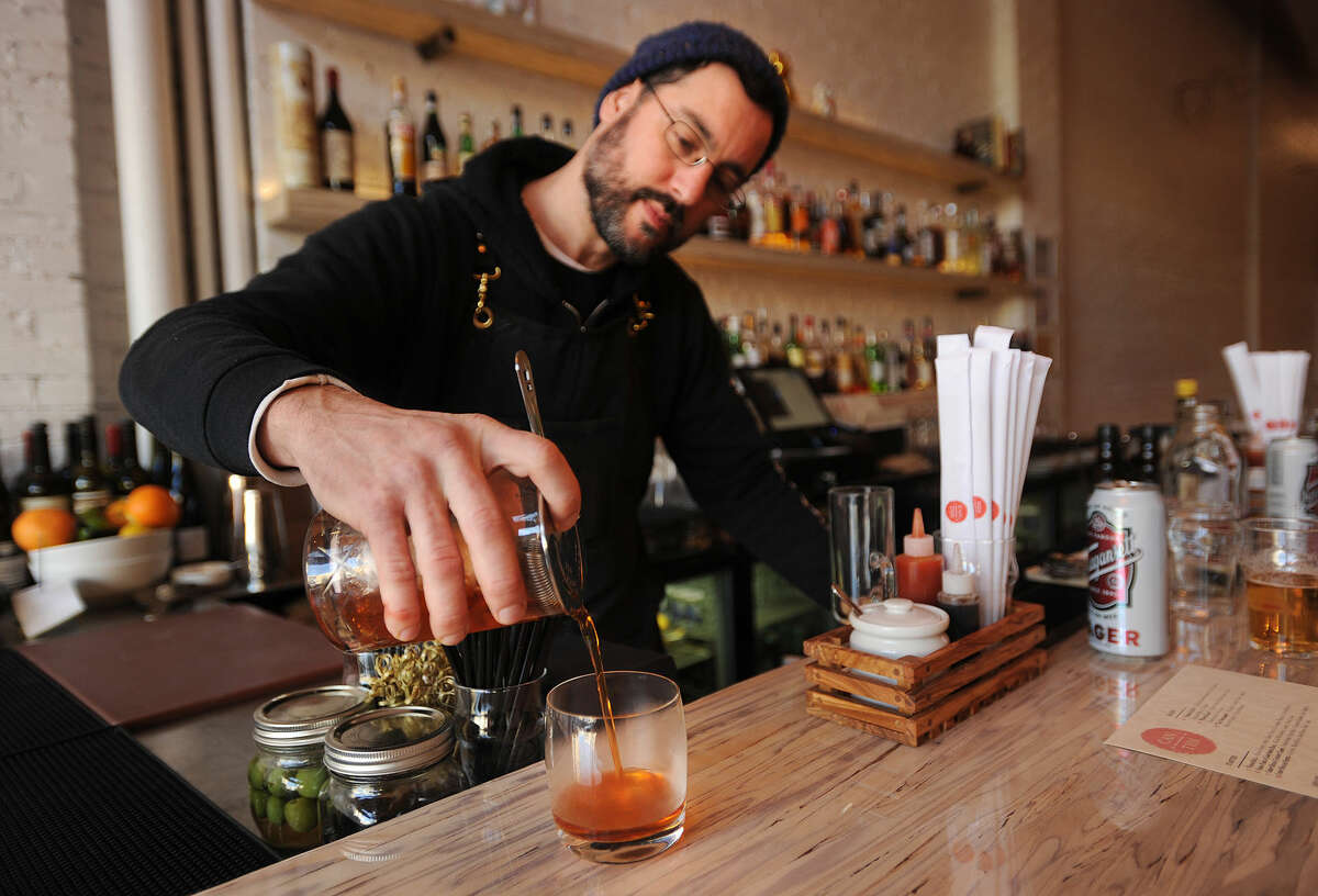 You don't have to hop on a Manhattan-bound Metro North train to find a cool bar scene; restaurant review site Open Table surveyed its users to find the most vibrant bar scenes in Connecticut.Check them out here:http://bit.ly/23NMovc(Photo:Brian A. Pounds)