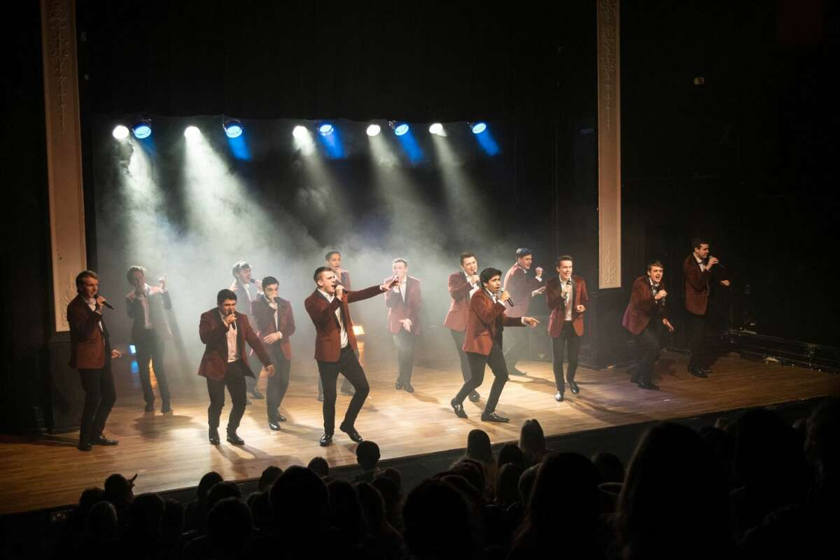 """Semi-Toned, a popular a cappella group from England, performs its """"Game of Tones"""" concert on Saturday at the Palace Danbury. Find out more. (Credit: Contributed Photo)"""