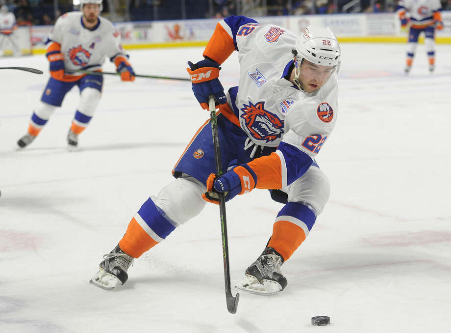 The Bridgeport Sound Tigers take on the Providence Bruins on Sunday at Webster Bank Arena. Find out more. (Credit:Brian A. Pounds/Hearst Connecticut Media)