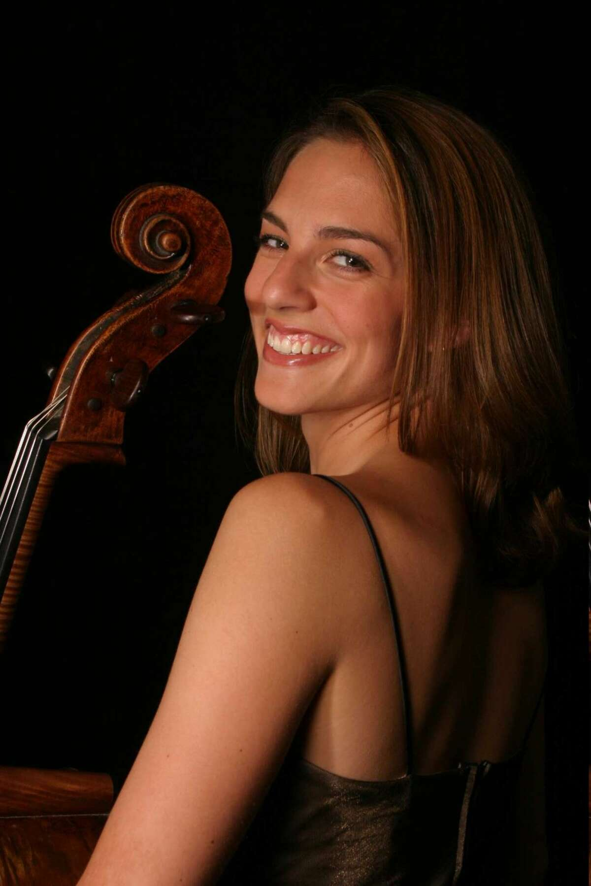 Cellist Julie Albers performs with the Stamford Symphony Saturday and Sunday at the Palace Theatre in Stamford. Find out more. (Credit: Contributed Photo)