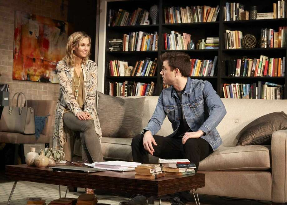 """Sex with Strangers"" is at TheaterWorks Hartford through Sunday. Find out more. (Credit: Contributed Photo)"