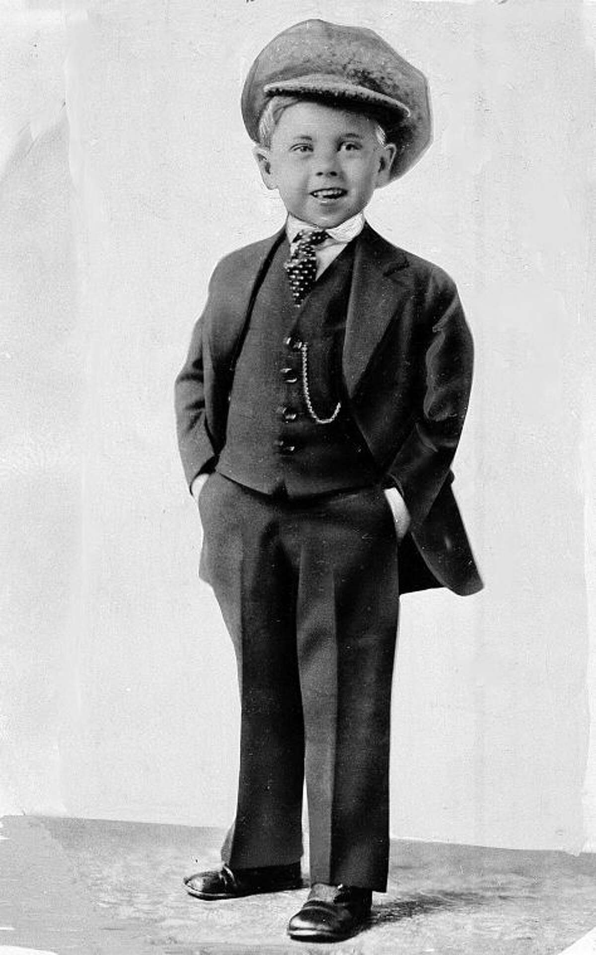 FILE - Child star Mickey Rooney poses for a promotional photo at age 5 in this photo dated about 1925. Rooney, a Hollywood legend whose career spanned more than 80 years, has died. He was 93. Los Angeles Police Commander Andrew Smith said that Rooney was with his family when he died Sunday, April 6, 2014, at his North Hollywood home. (AP Photo/File)