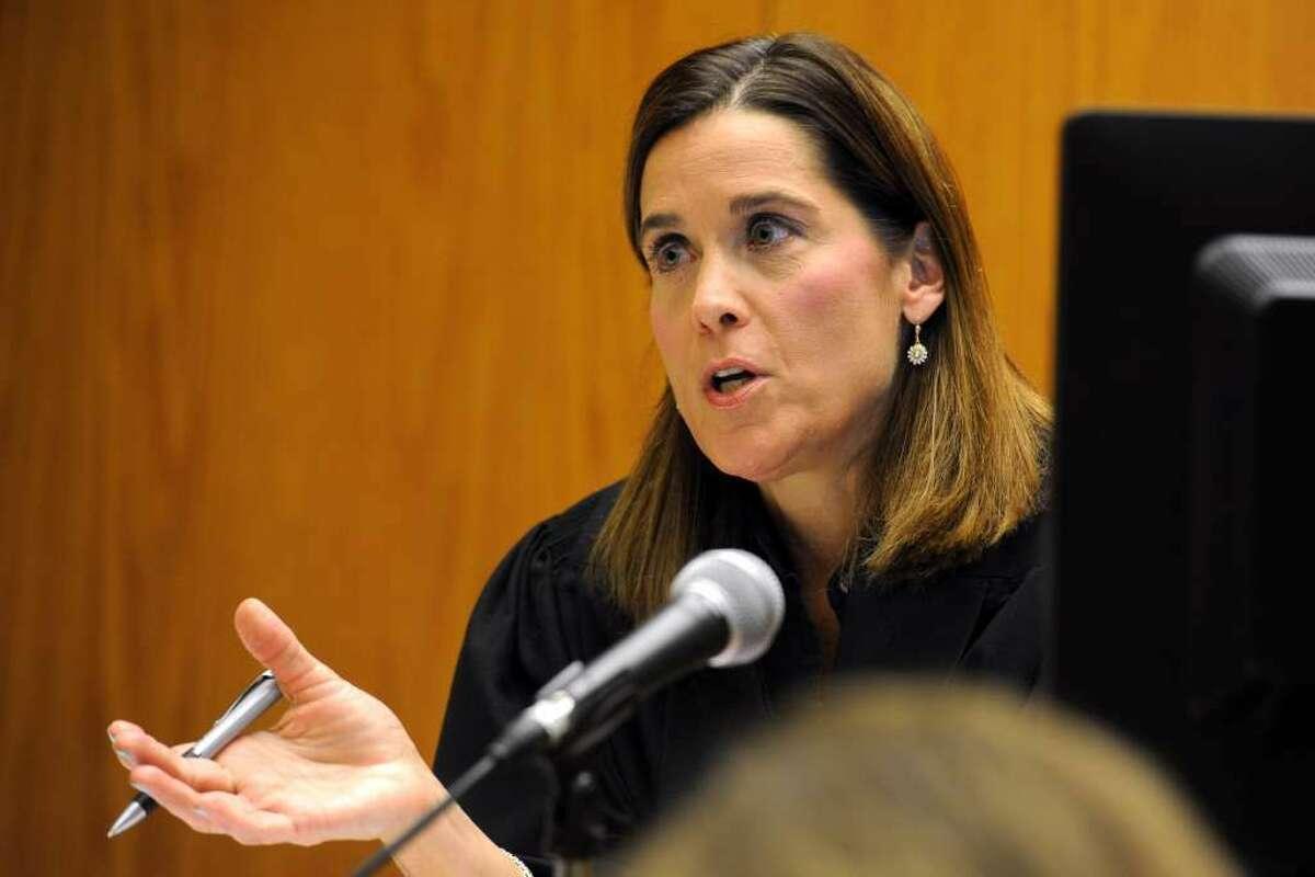 Superior Court Judge Barbara Bellis.(Ned Gerard / Hearst Connecticut Media)