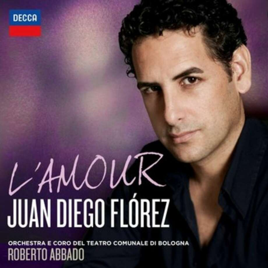 "This CD cover image released by Decca shows ""L'Amour,"" by Juan Diego Florez. (AP Photo/Decca)"