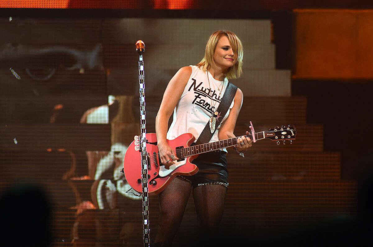 Country rock star Miranda Lambert was in concert at the Mohegan Sun Arena in Uncasville on Saturday night.
