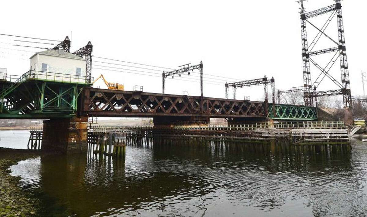 Hour Photo/Alex von Kleydorff The Metro North railroad bridge over the Norwalk River