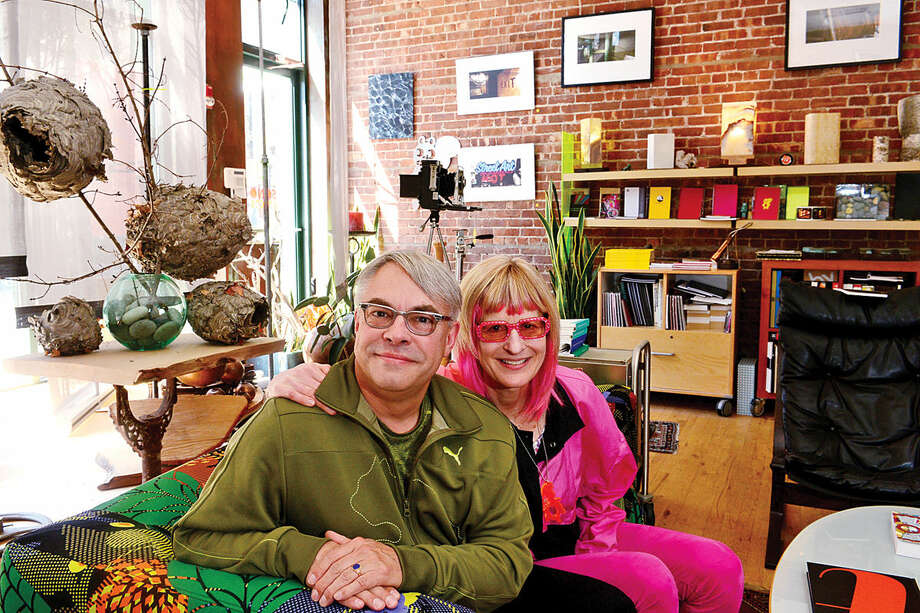 Karl Heine and his wife kHyal own a coworking space specifically for designers on North Main St., Creative Placement.