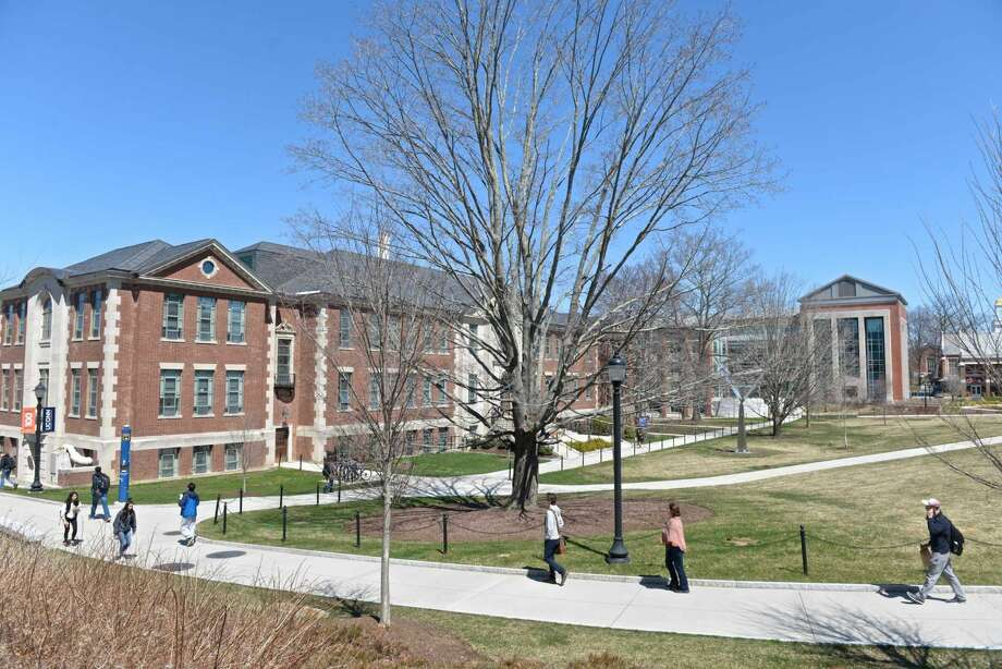 The University of Connecticut campus, on Thursday, April 14, 2016, in Storrs, Conn.